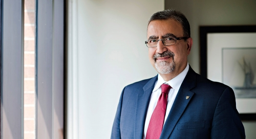 Waterloo University's President and Vice-Chancellor Feridun Hamdullahpur.