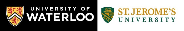 Logos of Waterloo and St. Jerome Universities.