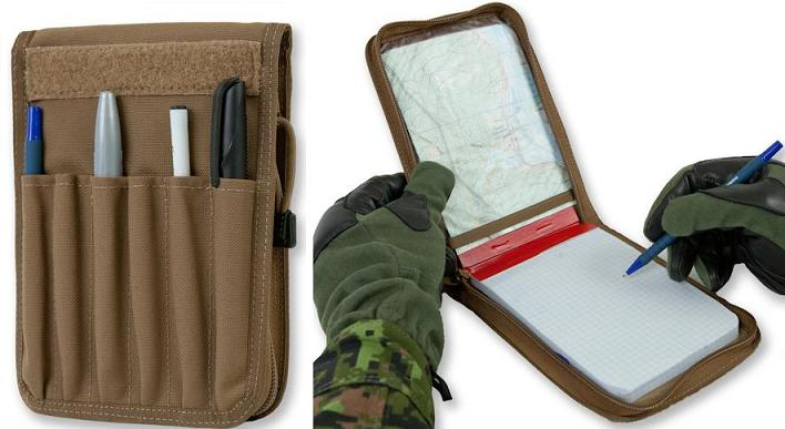 Typical Canadian Armed Forces Field Message Book.