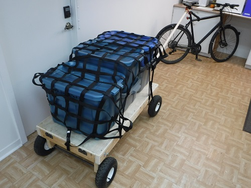 Bicycle Trailer Mode.