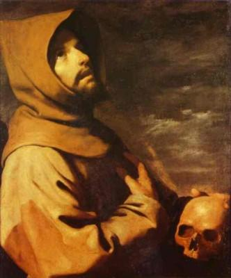 Francisco de Zurbarán. The Ecstasy of St. Francis