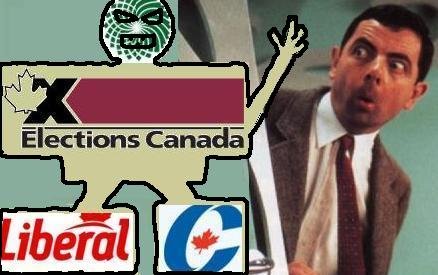 Mister Bean versus Elections Canada
