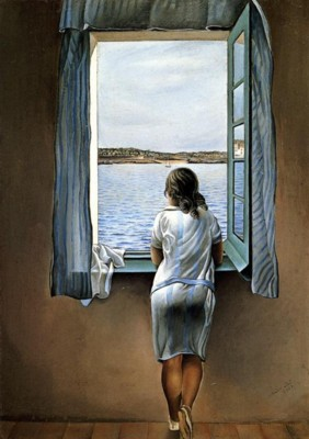 Salvador Dalí. Figure at a Window