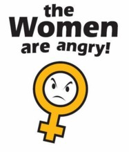 Angry feminists