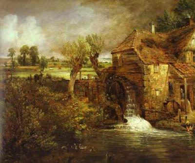 John Constable. A Mill at Gillingham in Dorset.