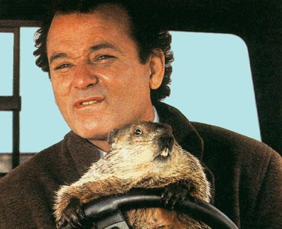 Scene from the movie «Groundhog Day»