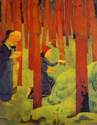 Paul Sérusier. L'Incantation ou Le Bois Sacré.