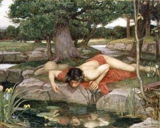 John William Waterhouse. Echo and Narcissus.
