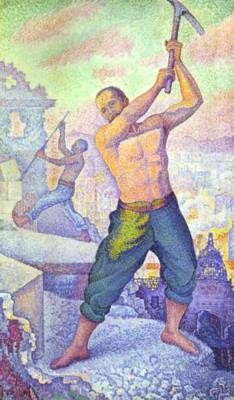 Paul Signac. The Wrecker.