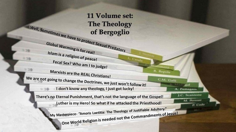 11 volume set: the theology of Bergoglio.