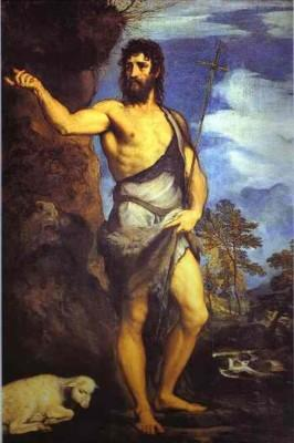 Titian. St. John the Baptist.